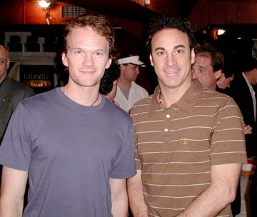 Photo of Neil Patrick Harris & his friend tv-personality  Ed Alonzo - Longtime